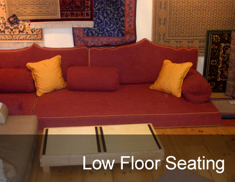 gallery pictures of low floor seating bespoke pelmets